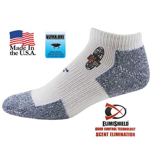 TF-991 - Top Flite Odor Control Cushion Socks