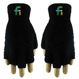 Fingerless Fuzzy Gloves