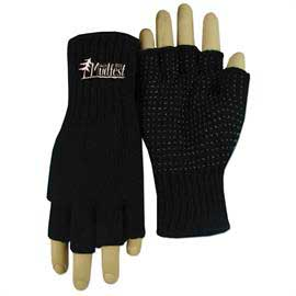 Fingerless Gripper Gloves