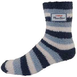 Overseas Custom Striped Fuzzy Feet