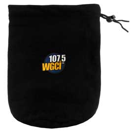 Fleece Drawstring Bag