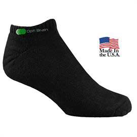 Lightweight Cotton Footie Athletic Pro Socks
