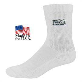 Relaxed Top Athletic Crew Socks