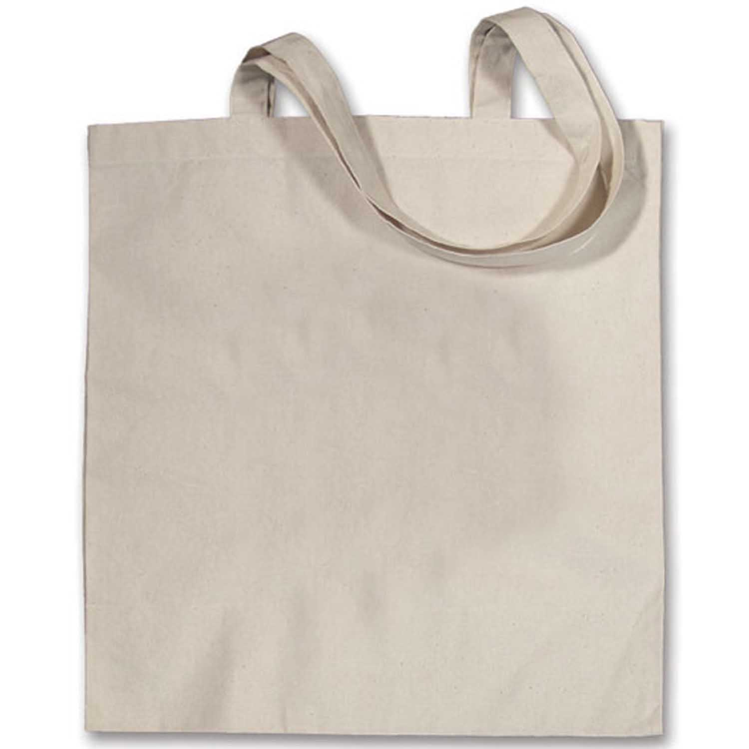 Small Canvas Tote Bag - Blank