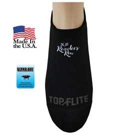 Top Flite Seamless Toe No Show Socks