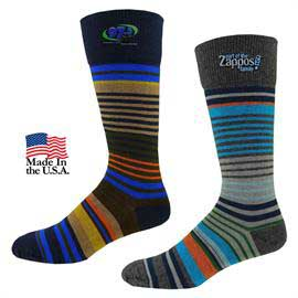 Men's Fashion Striped Dress Socks