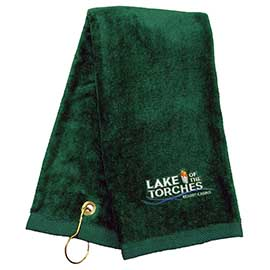 Tri-Fold Towel with Hook & Grommet