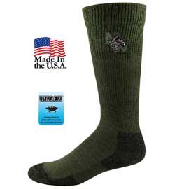 Non Binding Wool Blend Crew Socks