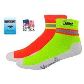 Wrangler Hi-Vis Quarter Work Socks